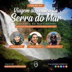 Viagem ao centro da serra do mar: rio capivari